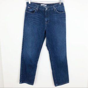 Tommy Hilfiger High Rise Boyfriend Denim Jeans 12